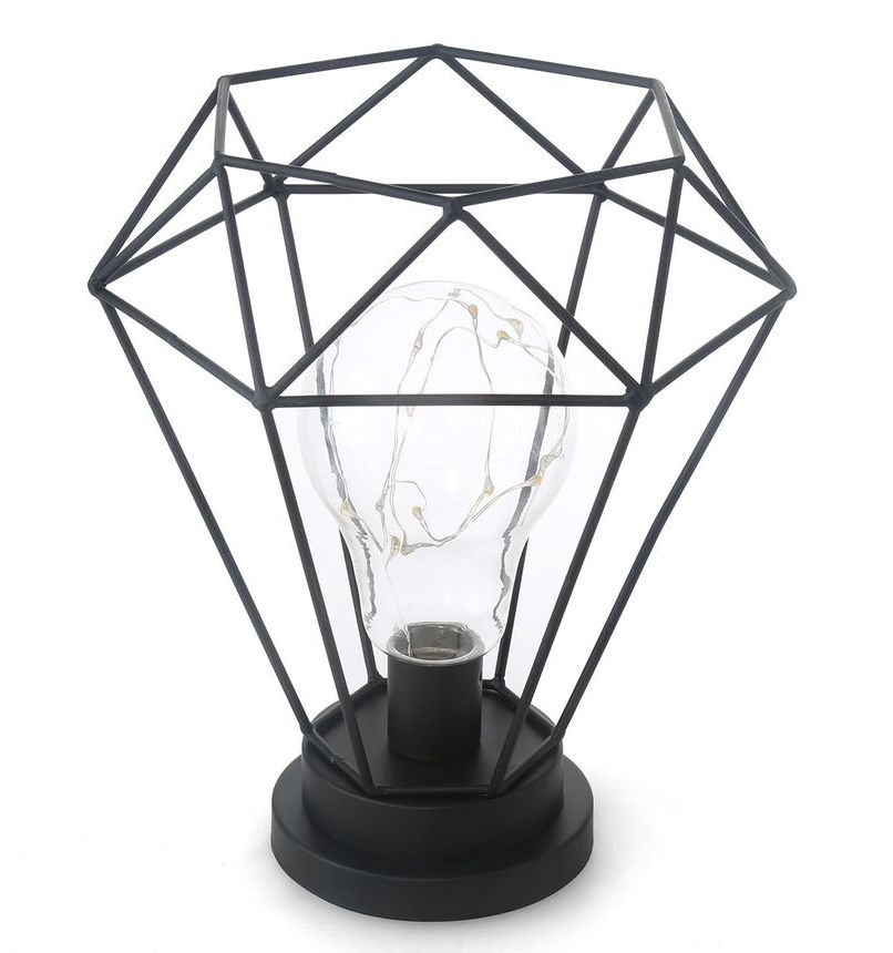 Diamond Light with starry bulb