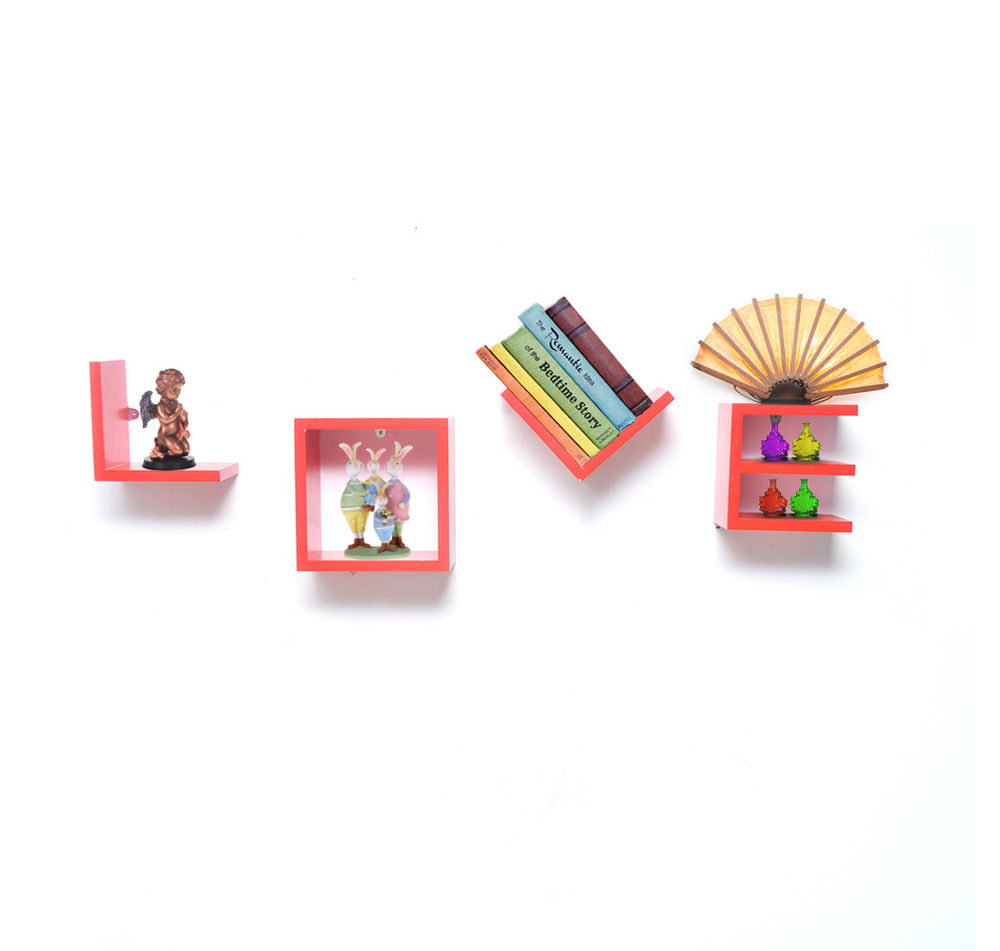 Love Wall Shelf Set of 4