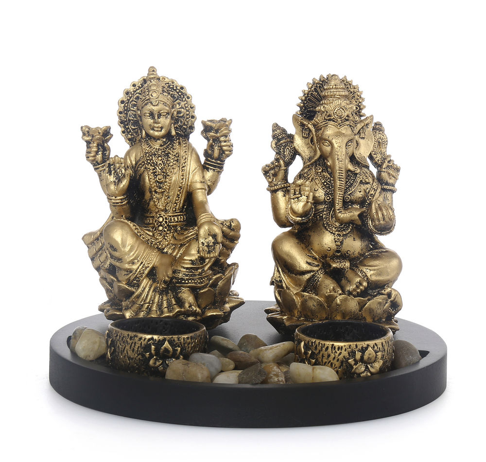 Devotional Lakshmi Ganesh Showpiece