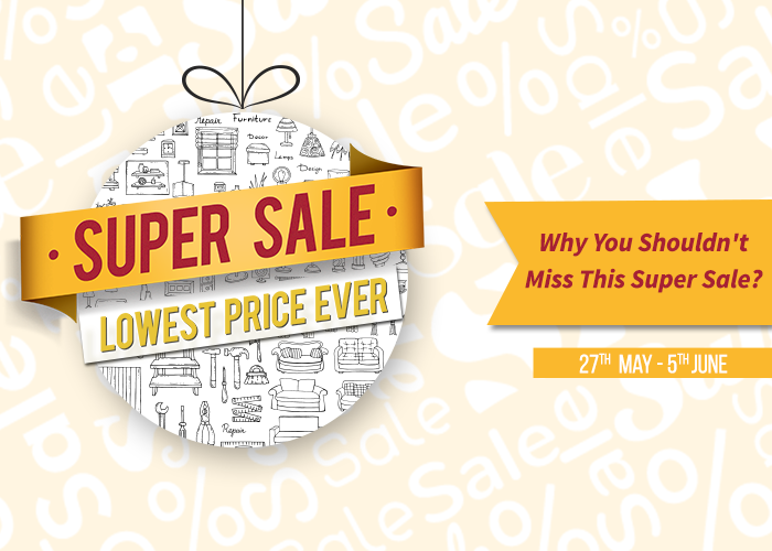Why You Shouldn't Miss This Super Sale?