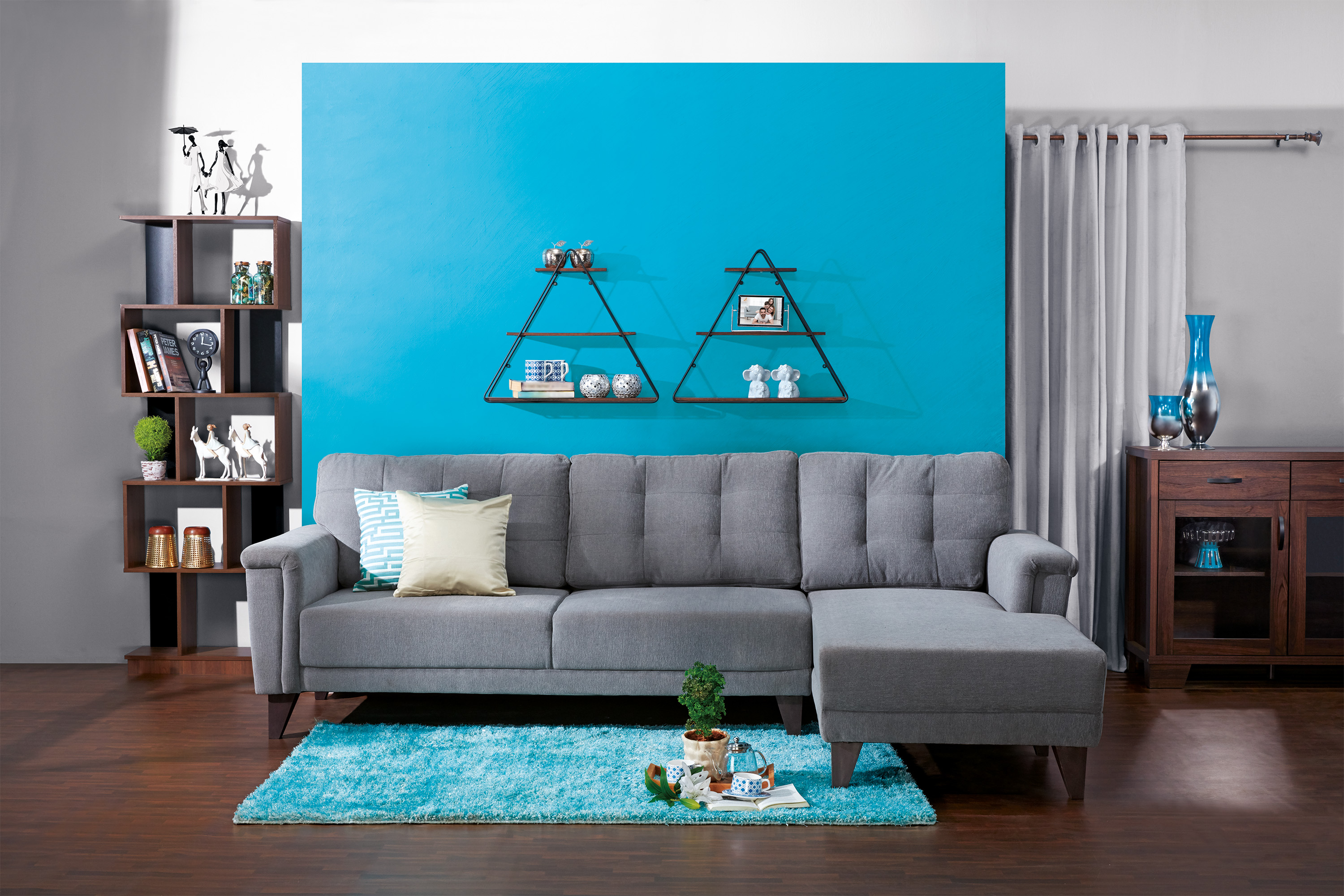 5 awesome decor tips to give a turquoise makeover to your home